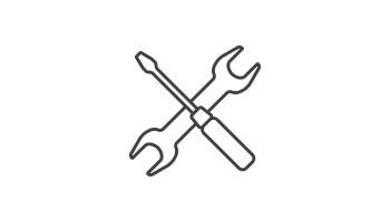 Icon Instandhaltung und Kalibrierung